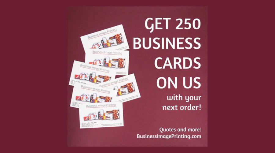 BIP-BPC News - 250 Free Business Card