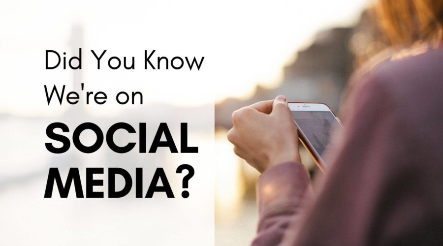 news-post-Did You Know We're On Social Media