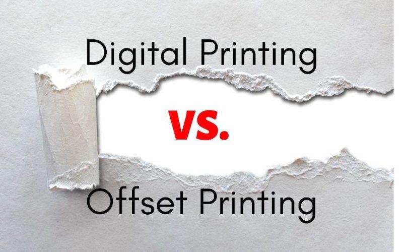 Digital Printing vs Offset Printing image