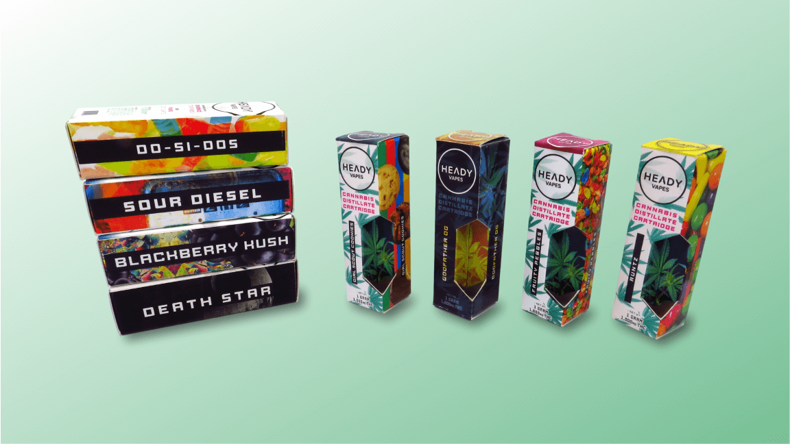 Custom Boxes for Cannabis Vape Cartridges