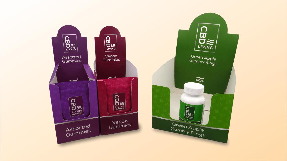 Custom Boxes for CBD Gummies